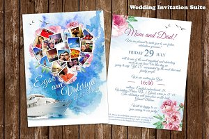 Wedding Invitation Watercolor
