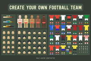 Football avatar constructor