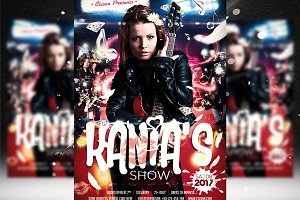 Kania's Show Flyer Template