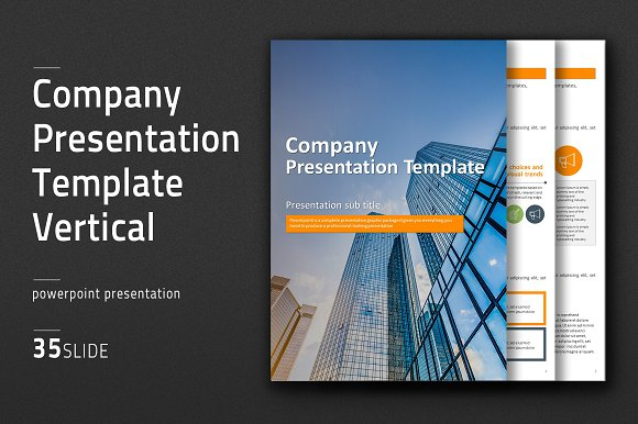 Company Template Vertical