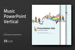 Music PowerPoint  Vertical