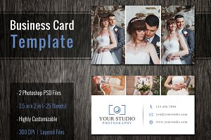 Photoshop Business Card Template PSD
