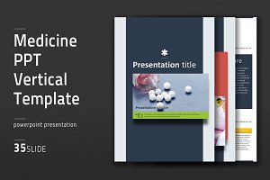 Medicine PPT Vertical Template