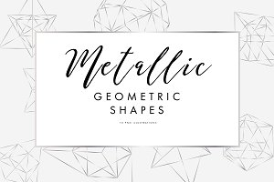 Metallic Geometric BUNDLE