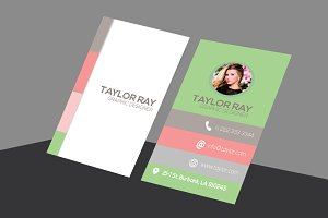 Taylor Printable Business Card