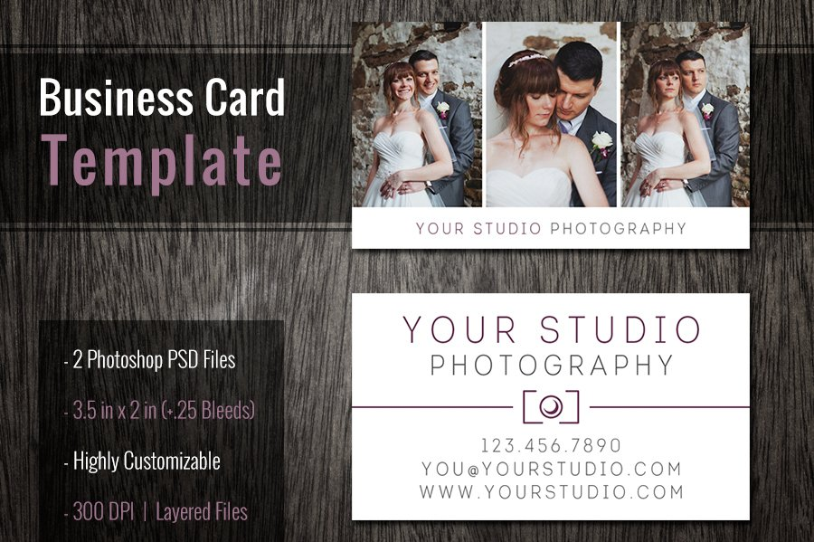 Photography Business Cards Templates Business Card Templates - Photography business cards templates for photoshop