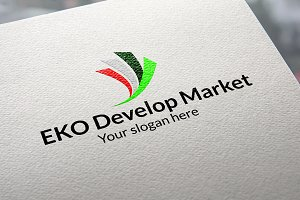EKO Develop Market Logo