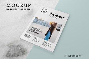Brochure / Magazine Mockups