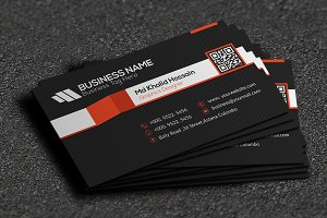 Stripe Cool Business Card