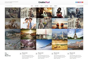 CreativePearl - Photography WP Theme