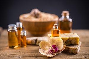 Spa herbal soap
