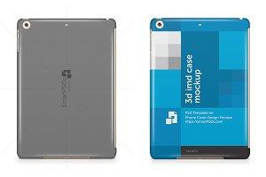 iPad Mini 4 3dCase Back Mock-up