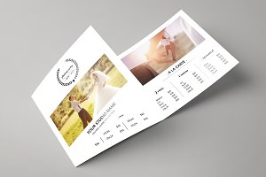 Trifold Price List Template -V511