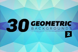 Geometric Backgrounds 30 - 2
