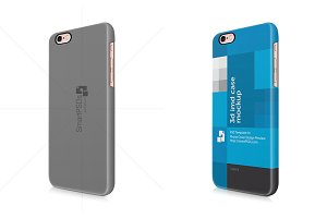 iPhone 6 Plus 3d Case Design Mock-up