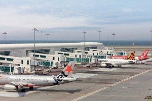 International airport of Kuala Lumour