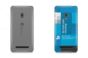 ASUS Zenfone 5 3d Case Mock-up