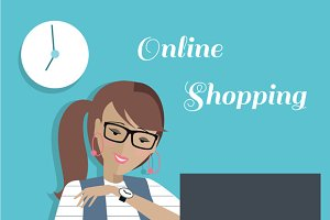 Fashion Woman Online Shopping