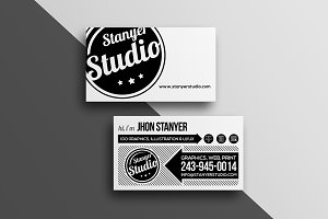 Agency/Studio business Card #45