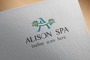 Beauty Salon & Spa Logo