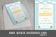 4 Baby Shower Invitation Templates