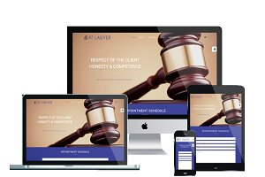 AT Lawyer Onepage Joomla Template