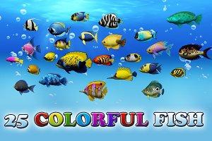 Colorful Sea Fish