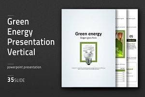 Green Energy Presentation Vertical