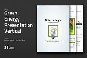 Green Energy Presentation Vertical