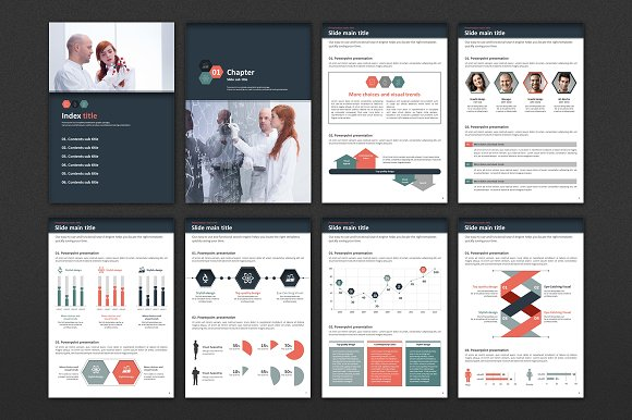 Science Experiment Vertical PPT in PowerPoint Templates - product preview 1