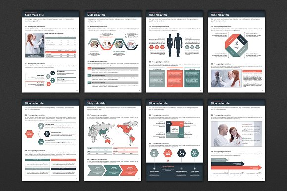 Science Experiment Vertical PPT in PowerPoint Templates - product preview 3