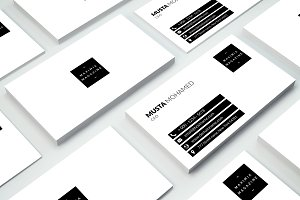 Clean Minimal Business Card - 08