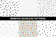Memphis style - geometric patterns.
