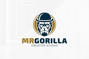 Mister Gorilla Logo Template