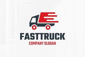 Fast Truck Logo Template