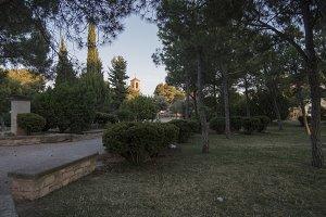 El parque de Sant eloi de Lleida