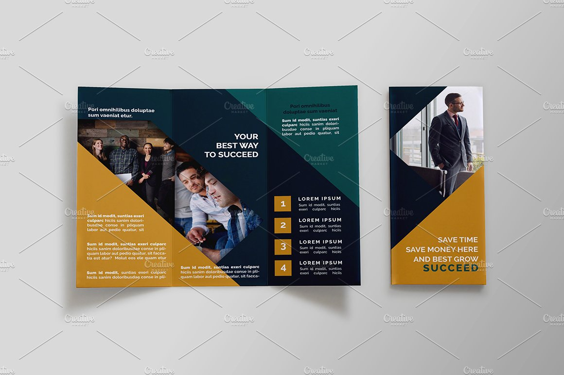 templates brochures - business tri fold brochure nil brochure templates on