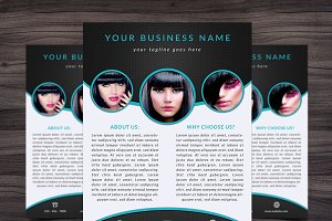 Flyer Template 006 for Photoshop