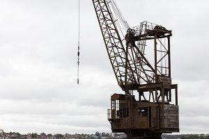 Iron crane and dry dock Cockatoo