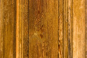 Detail of weathered wooden door