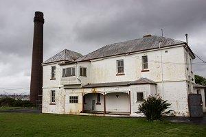 Old prison buildings Cockatoo island