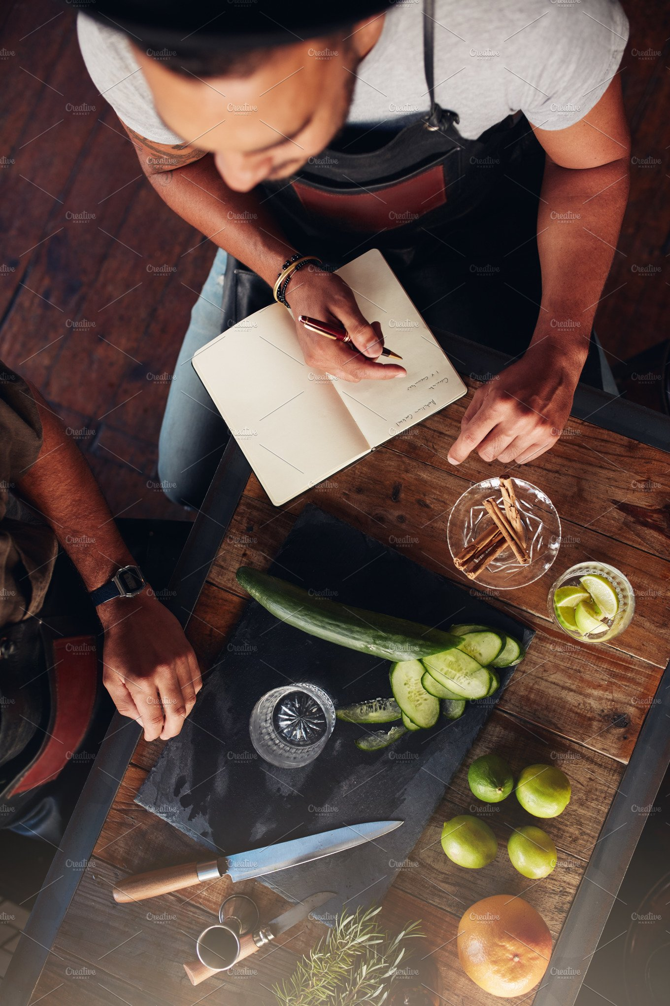 Two Bartenders Experimenting Food Amp Drink Photos