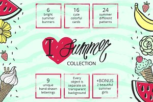 I Love Summer Collection