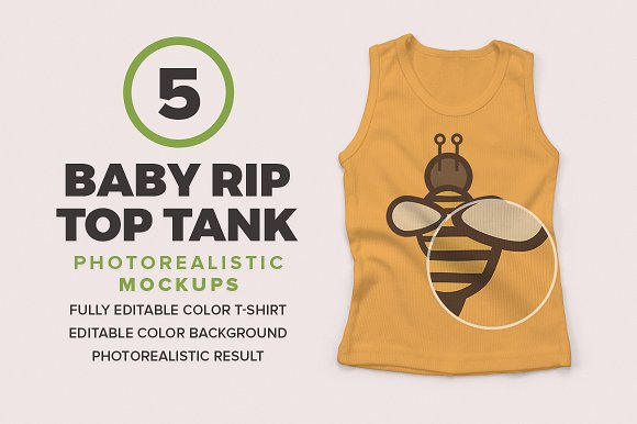 Download Baby Rip Top Tank Mockups