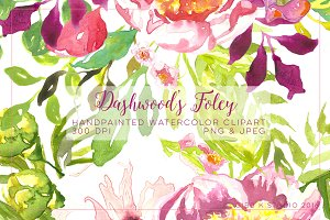Dashwood's Foley Watercolor Clipart