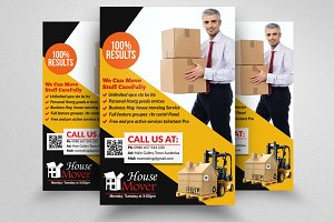 Moving House Services Flyer