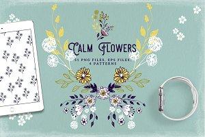 Calm Flowers