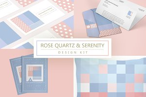 Rose Quartz and Serenity design kit