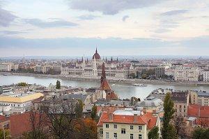 Budapest parliament. Hungary.