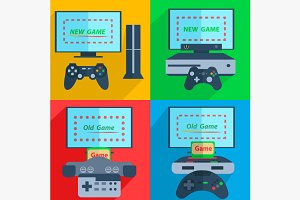 Set game consoles